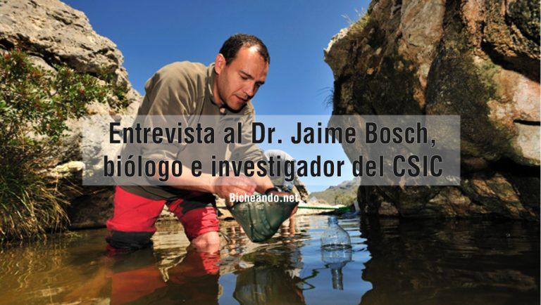 Entrevista al Dr. Jaime Bosch, biólogo e investigador del CSIC