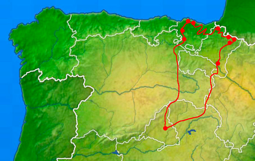 Viaje herpetologico a pais vasco y pirineos